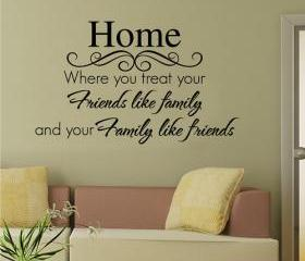 home romantic English poetry - living room / bedroom / bed / wall stickers / wall stickers